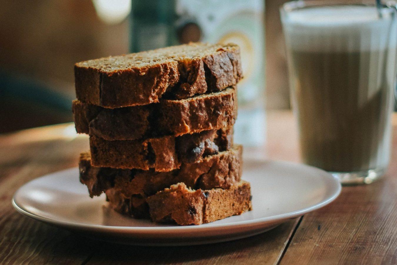 braces-friendly banana bread